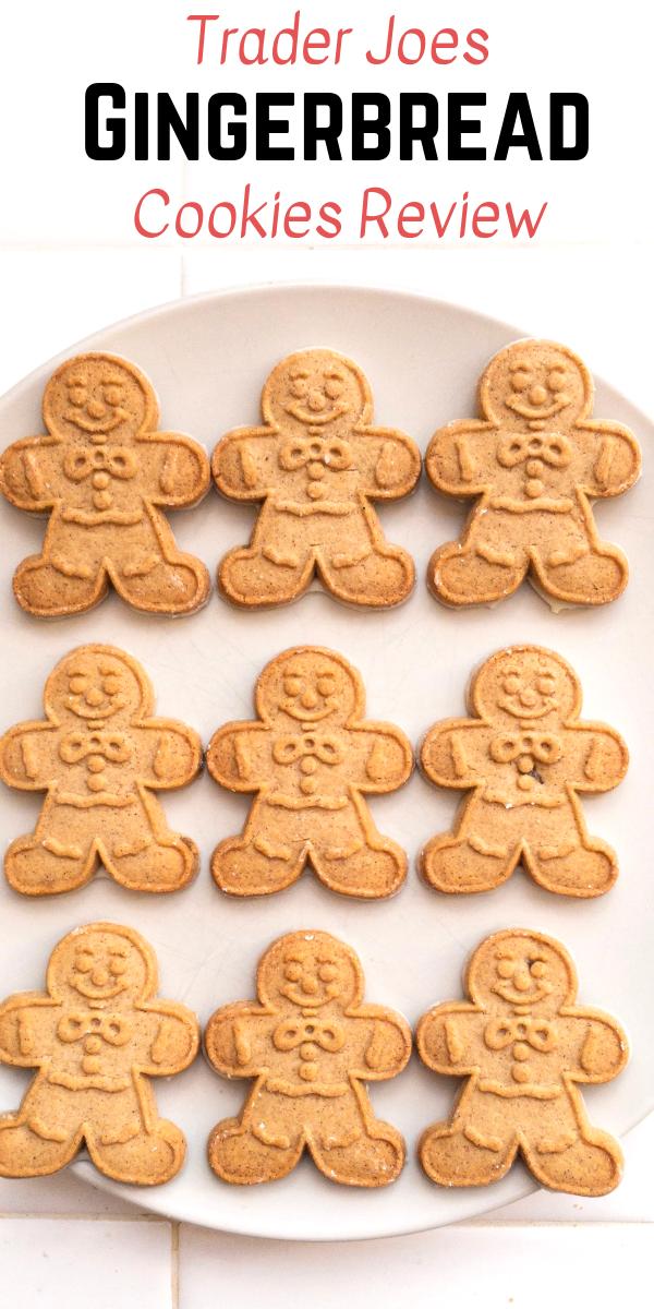 Trader Joe S Mini Gingerbread Men Review Snack Foods Gingerbread