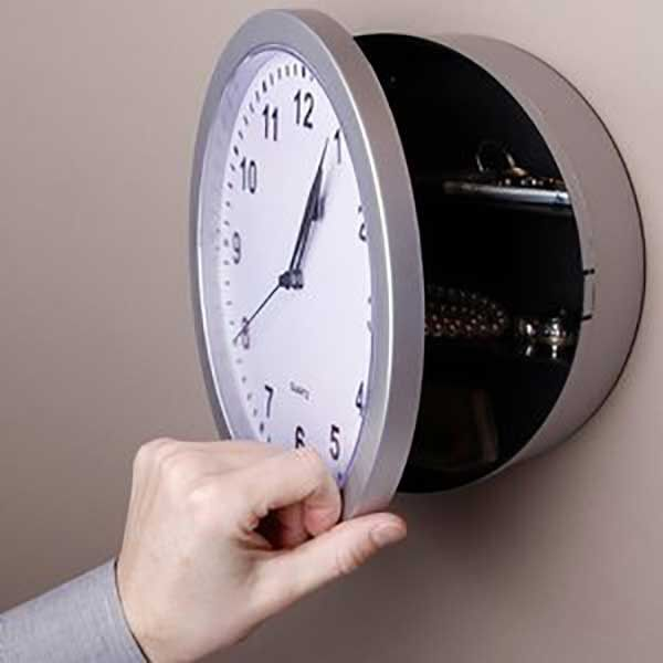 Wall Clock Hidden Safe Hidden Safe Secret Walls Wall Safe
