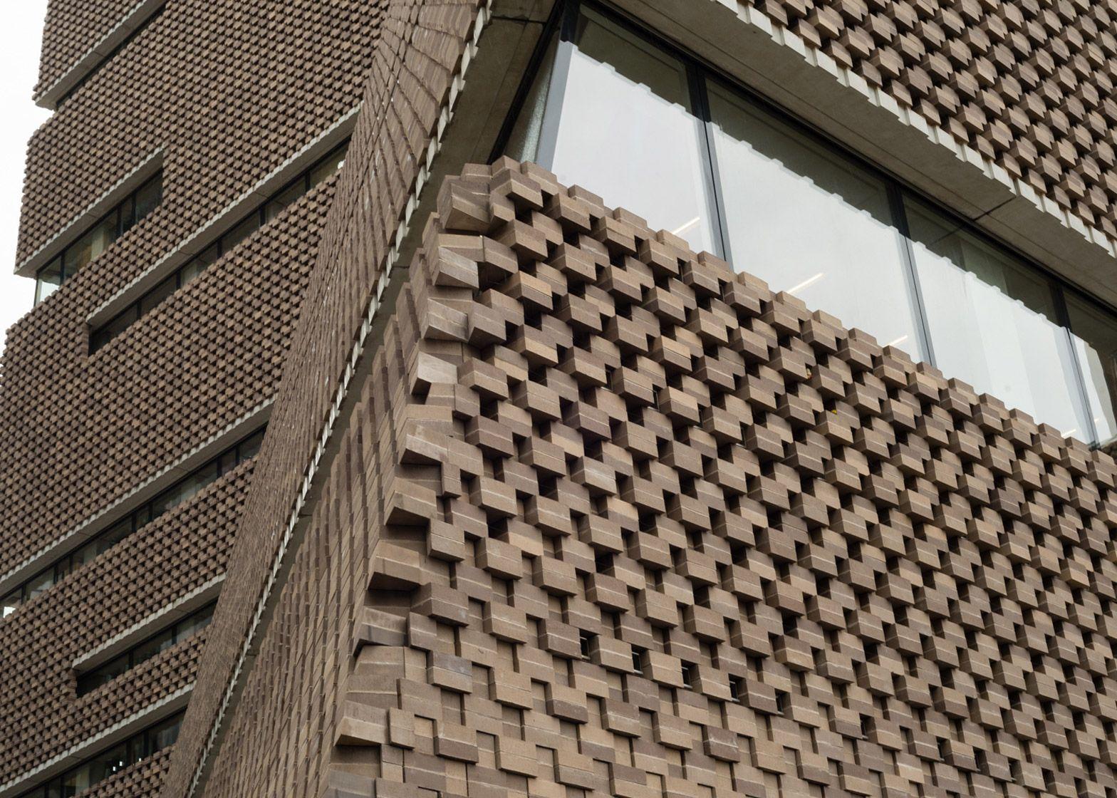 Switch House By Herzog De Meuron Features An Exterior Of Latticed Brickwork Switch House Tate Modern Tate Modern Extension