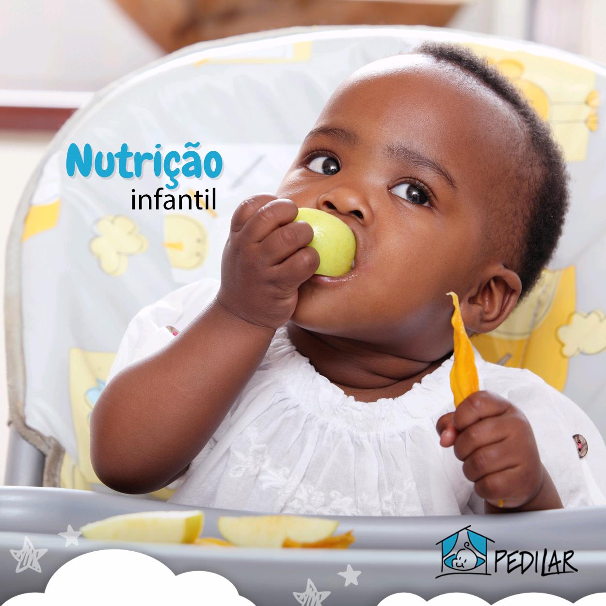 Alimentar uma criança pode parecer uma tarefa bem simples