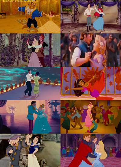 Disney dances - I adore the beauty and the Beast one.  And definitely the Kingdom Dance in Tangled.