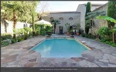Vente chambres d 39 h tes ou g te en languedoc roussillon - Maison d hote en alsace avec piscine ...