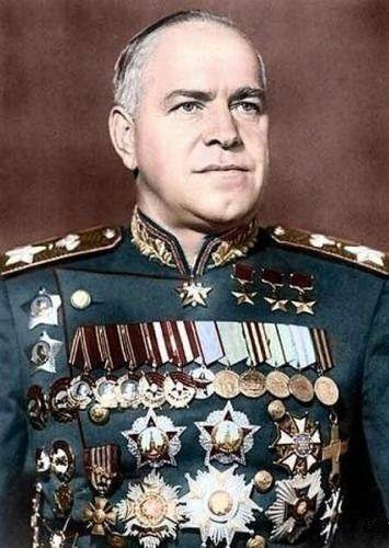 Marshal Georgy Zhukov. That's a lot of bling....