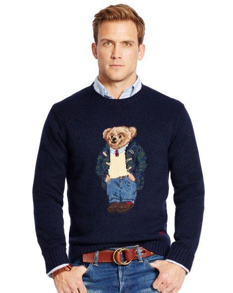 Polo Ralph Sweatersamp; Preppy Sweater Lauren Bear Sweatshirts Nk08wOXnPZ