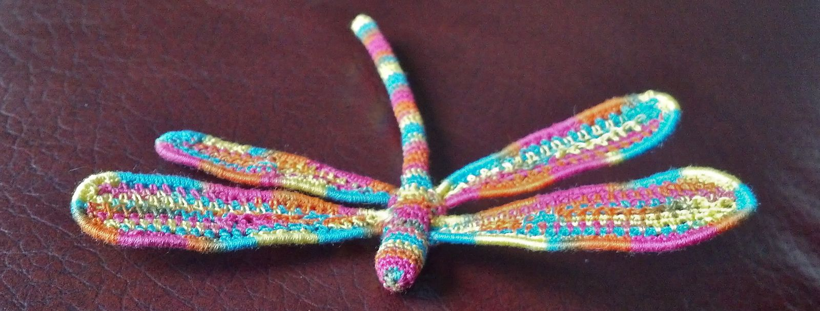 Dragonfly Crochet Pattern Cool Decoration