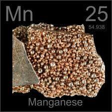 Manganeso Símbolo: Mn Estado: Solido Es un metal de transición ...