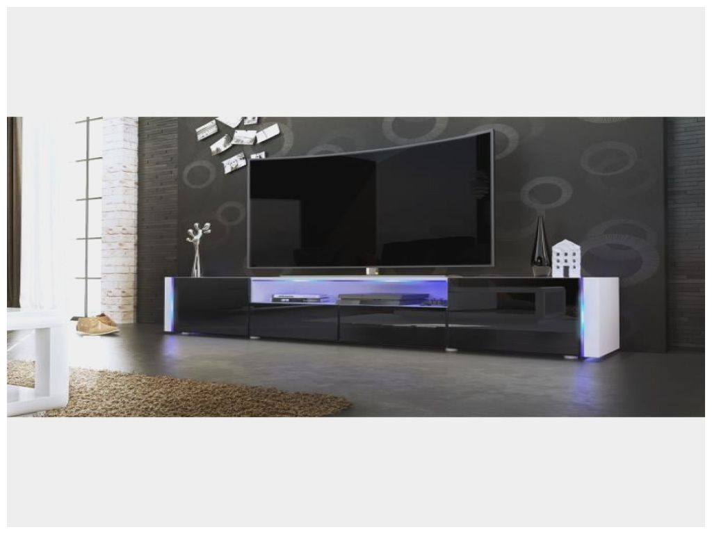 Inspirant Meuble Tv Laque A Led With Images Living Room Tv Unit Designs Gaming Room Setup Tv Wall