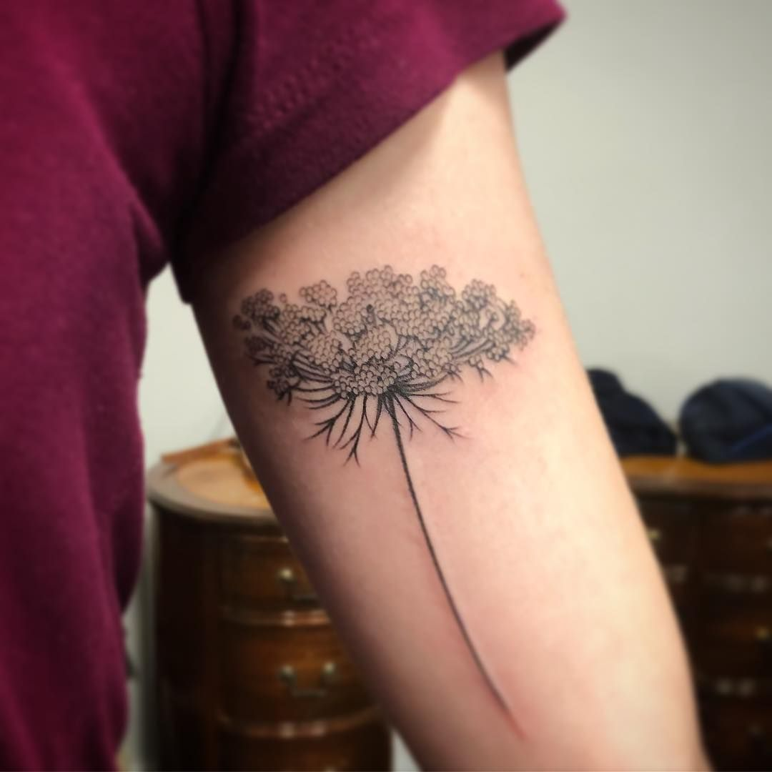 Queen Anne S Lace Tattoo Google Search Tattoos Lace Tattoo