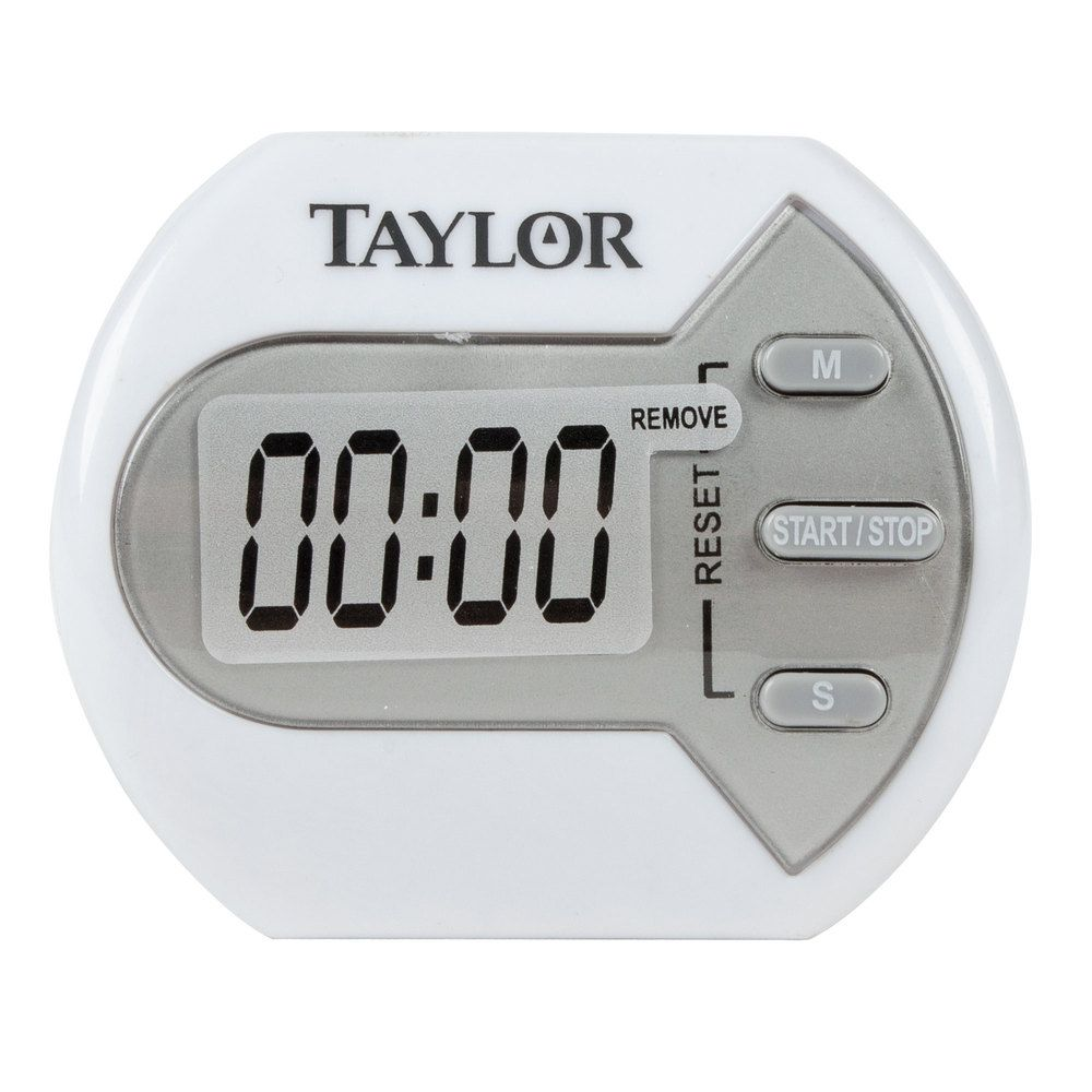 taylor kitchen timer used equipment miami 5827 21 white classic digital pocket dear 5806 timers santa countdown