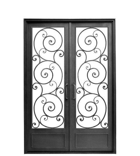 Puerta doble hoja recta proyectos que debo intentar en for Puertas dobles de hierro antiguas