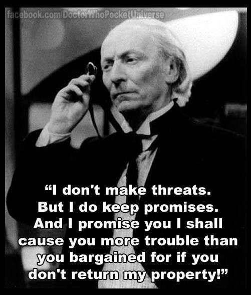 First Doctor (William Hartnell) || Classic Doctor Who