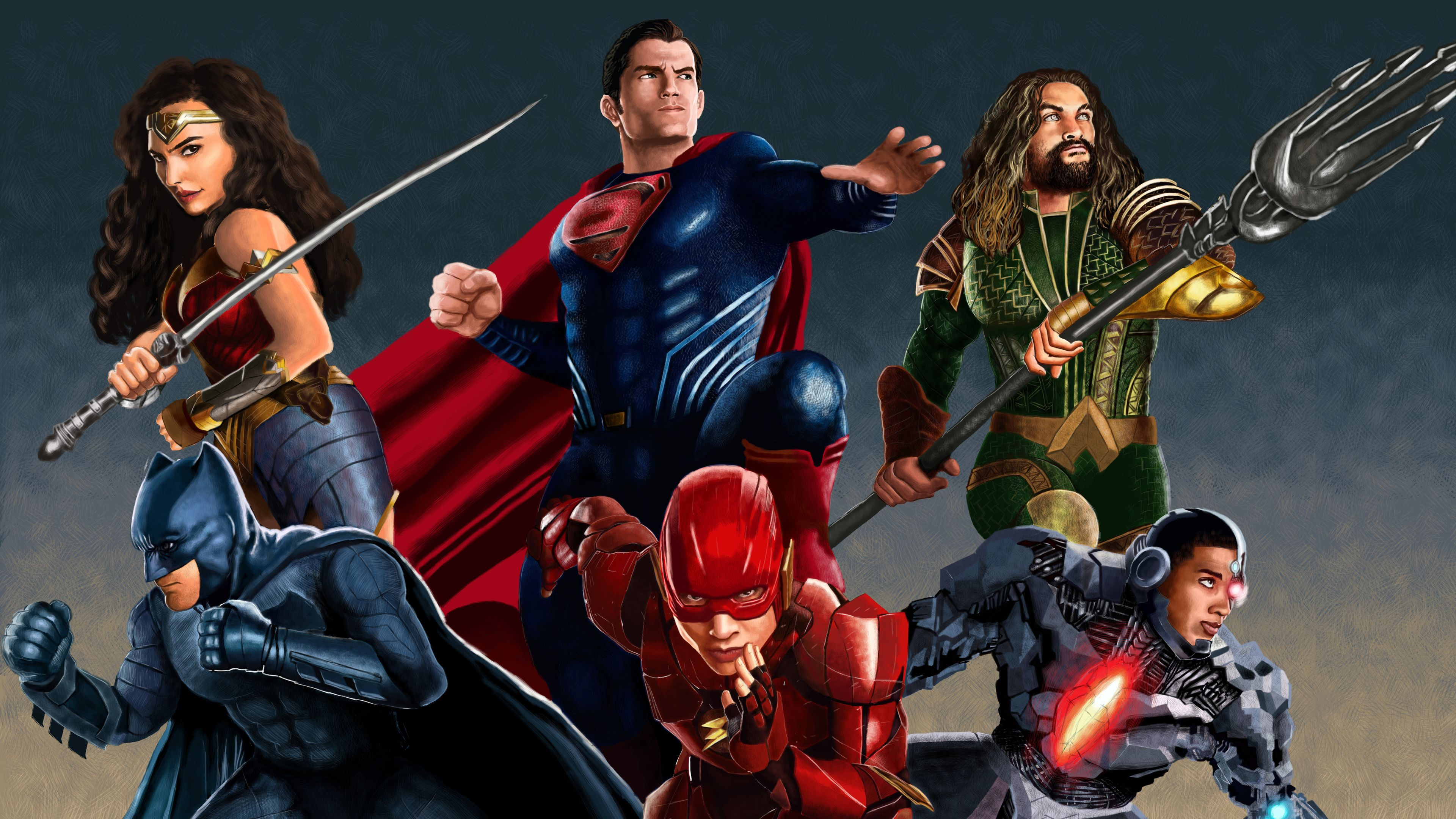 Justice League Artworks 4k Superheroes Wallpapers Justice League Wallpapers Hd Wallpapers Digit Justice League Artwork Superhero Justice League Hd Wallpaper