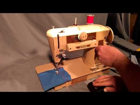40A Singer Sewing Machine Video Part Two YouTube Sewing Stunning Youtube Singer Sewing Machine Repair