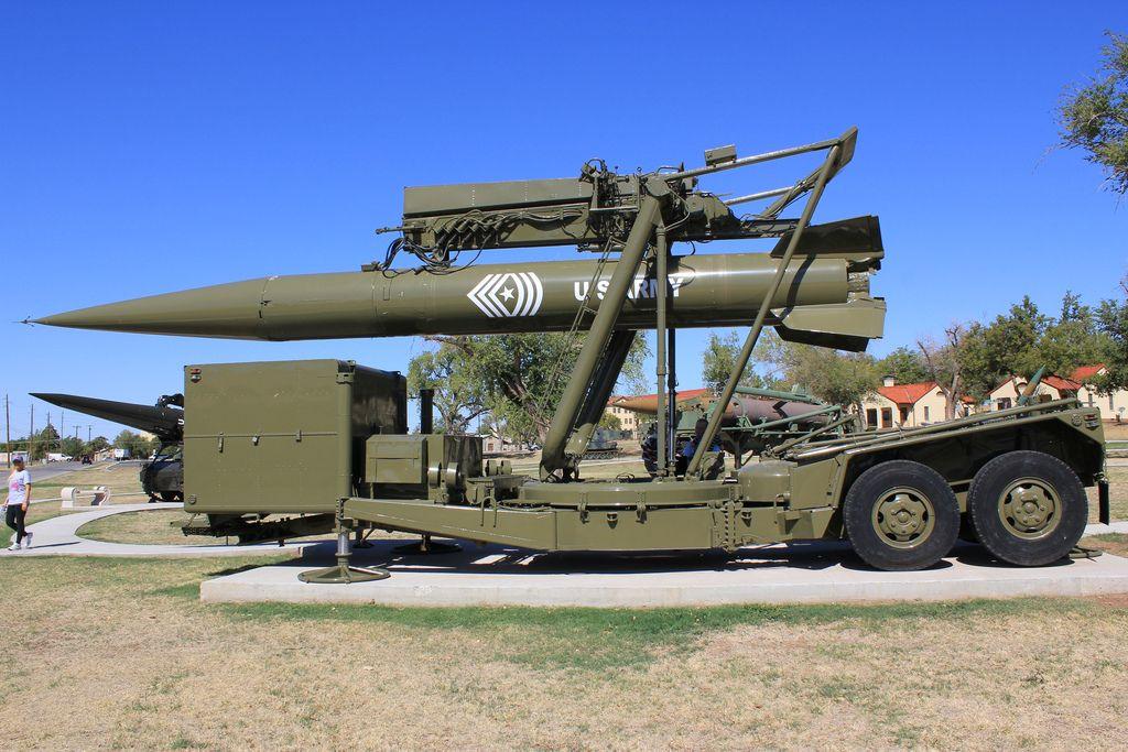 The MGM-29 Sergeant TEL trailer