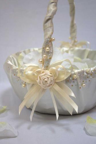 Свадебные корзинки своими руками: секреты идеального украшения 55