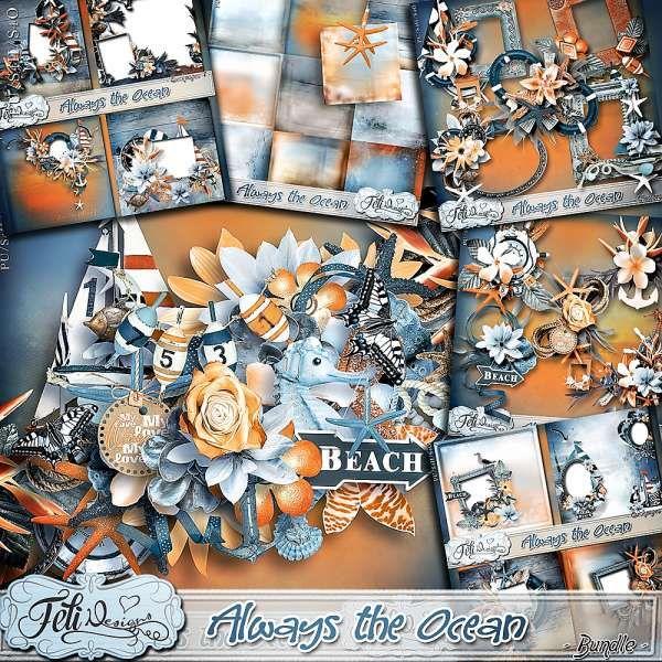 Personal Use :: Bundled Deals :: Always the Ocean - Bundle (PU/S4H) by Feli Designs