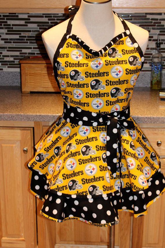 Steelers Apron Great Gift Idea For Your Football Fan