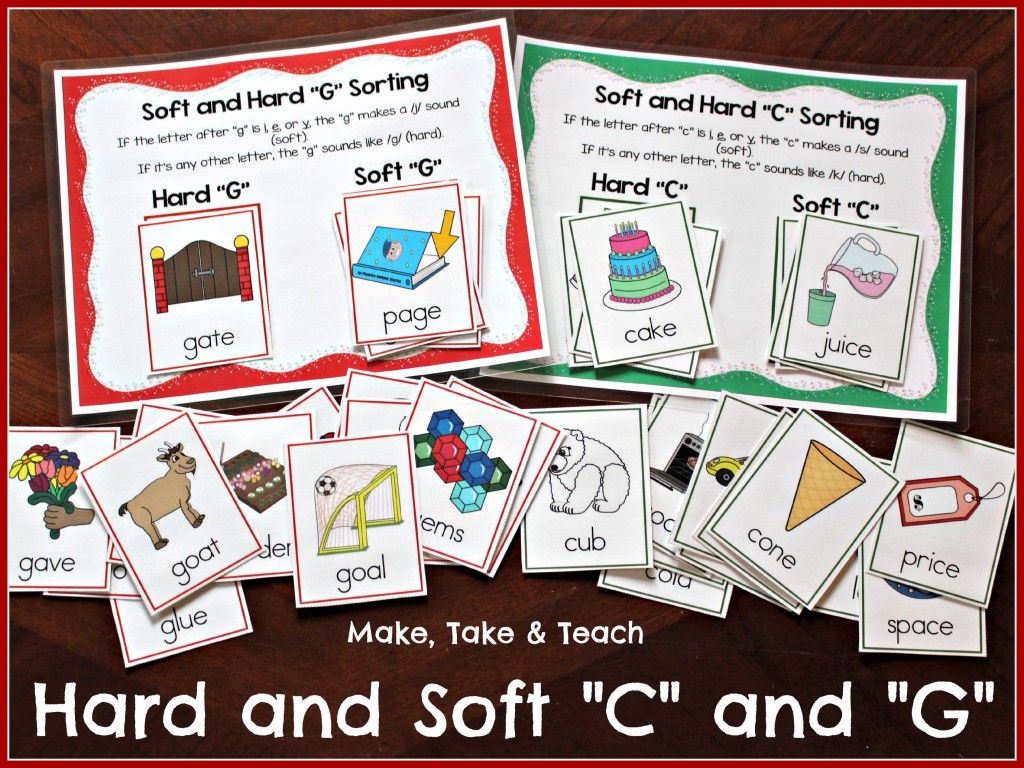 Teaching The Hard And Soft C And G