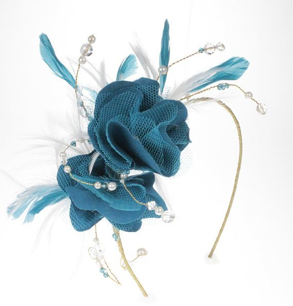 Feather Wedding Fascinator, Mother Of The Bride Fascinator, Fascinators For Weddings,