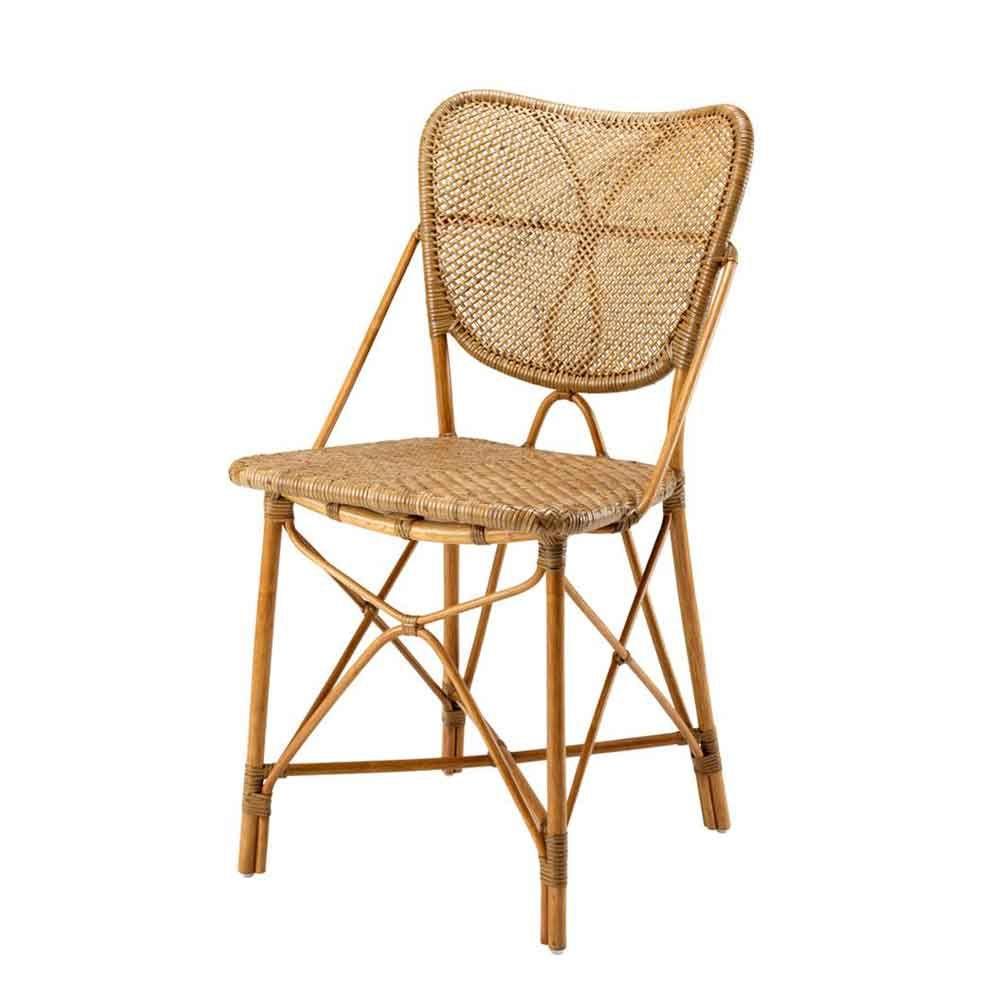 Eichholtz Esszimmerstuhl Colony Rattan Rattan Esszimmerstuhle Esszimmerstuhle Leder Esszimmer Stuhle