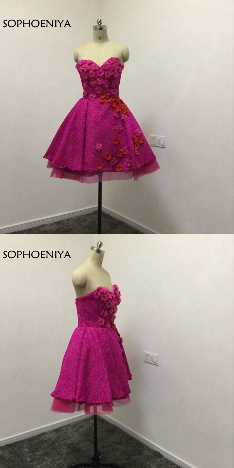 New Arrival Purple Short Cockatil dresses 2018 Robe cocktail Vestido de  festa formal party dresses dd5533e64e8a