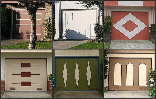 Westlake Garage Doors 1958 1965 Garage Door Design Modern Garage Doors Mid Century Modern Exterior