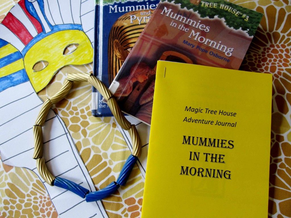 Magic Tree House: Mummies in the Morning activities and crafts ...