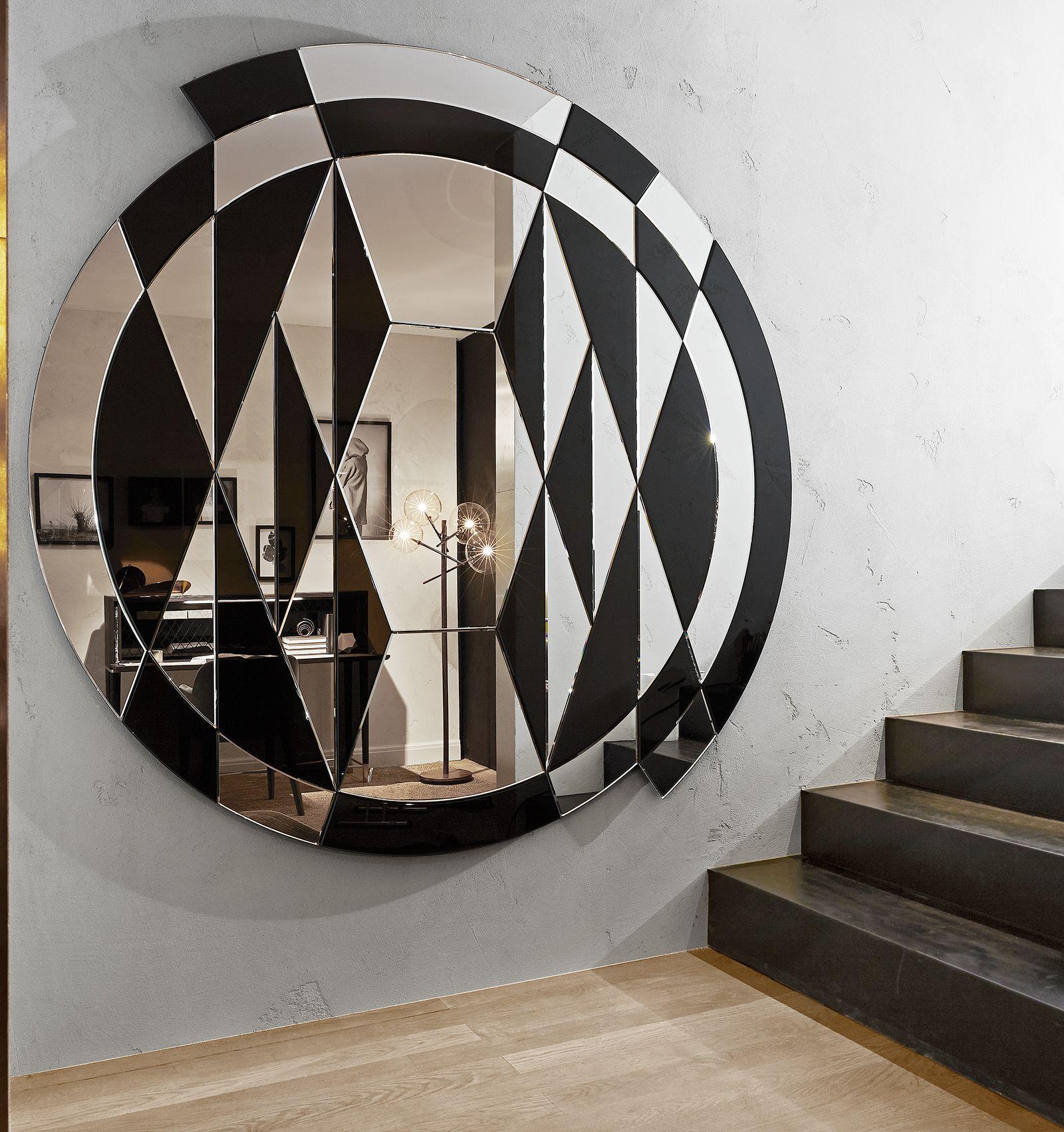 Black White Beat Mirror Mirror Design Wall White Beats Modern Mirror