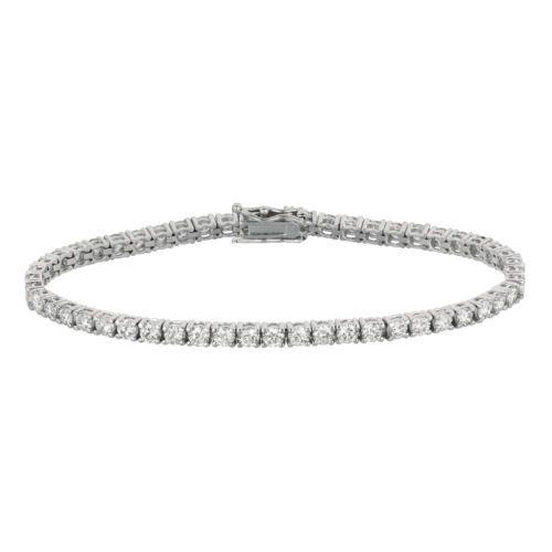 5 15 Ct 10 Pointer Diamond Bracelet Set In 14k White Gold B5641wd10 Tennis Bracelet Diamond Diamond Bracelet Tennis Bracelet