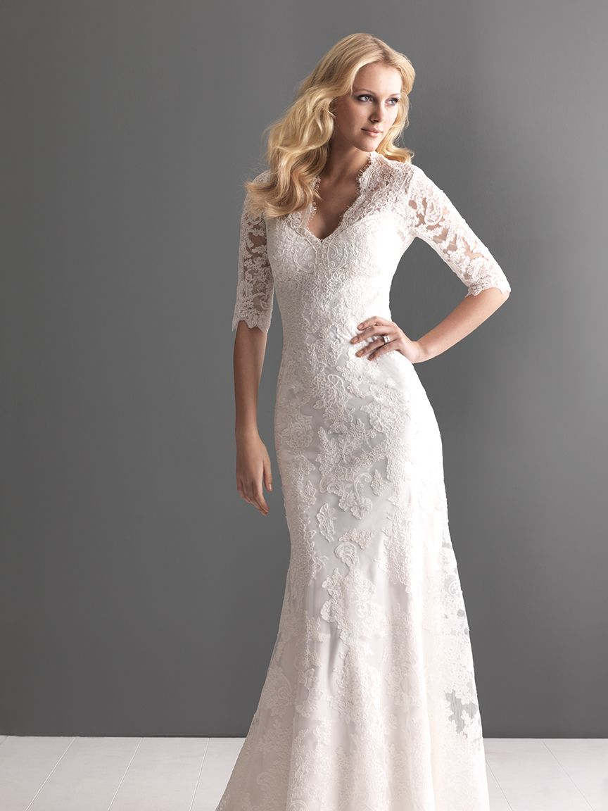 Style: 2604   Lace wedding dresses, Allure bridals and Lace wedding