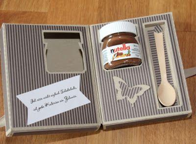 notfallbox f r schleckerm uler nutella boxen und verpackungen pinterest box. Black Bedroom Furniture Sets. Home Design Ideas