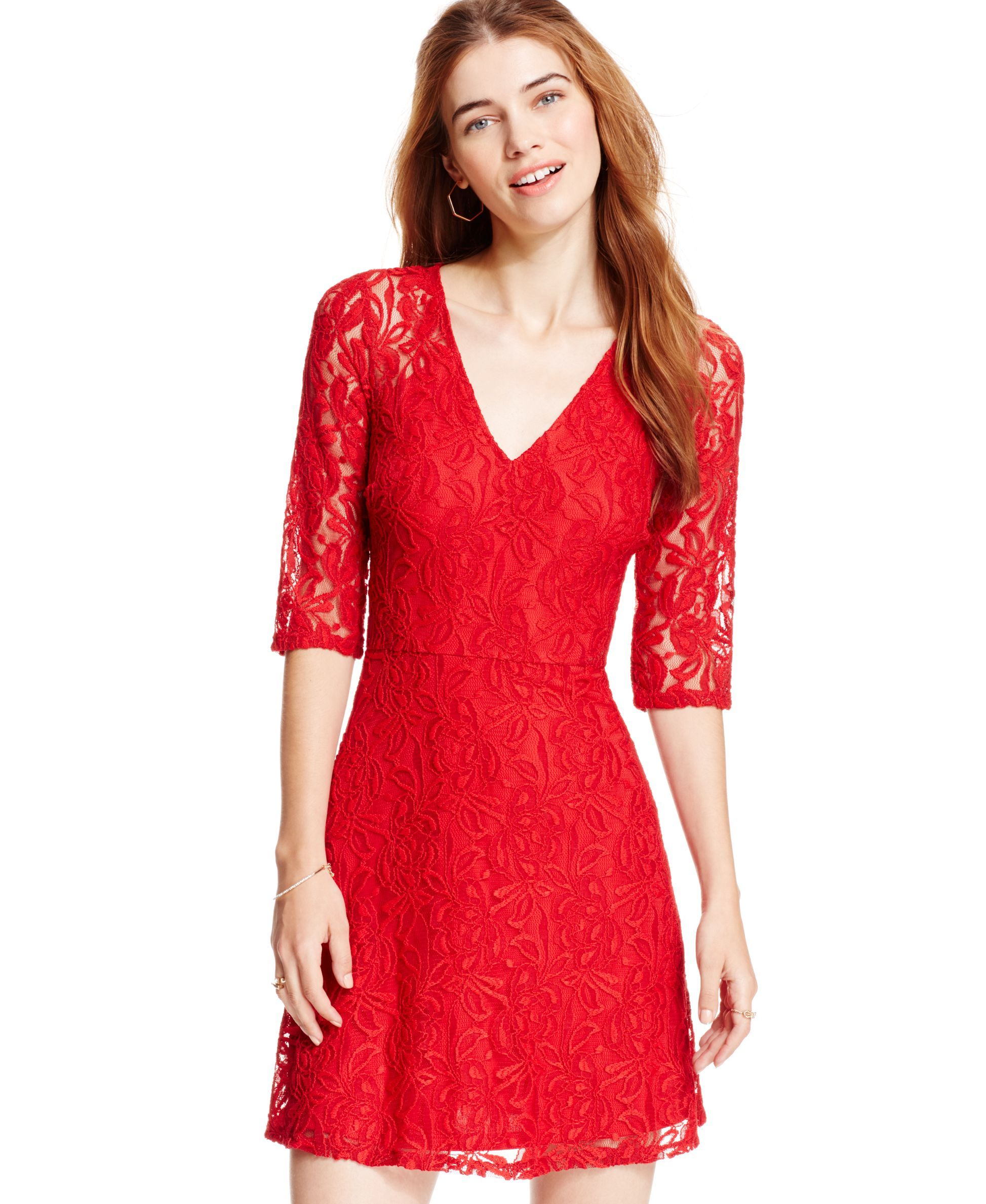 9f097d5989ce Macys Red Lace Dress – DACC