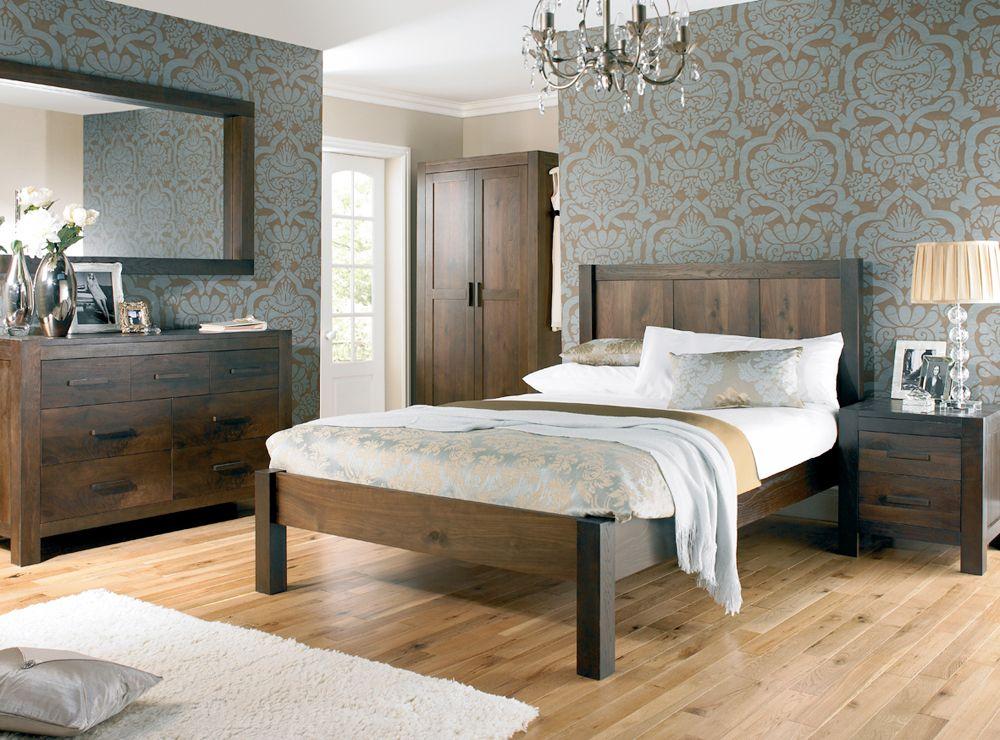 Light Walnut Bedroom Furniture