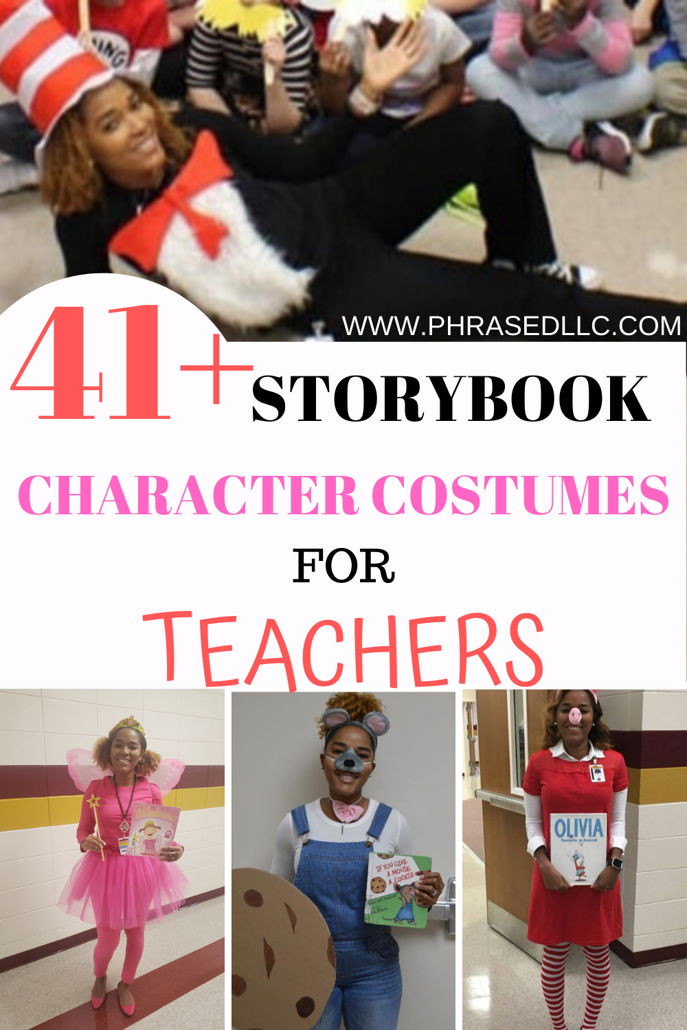 41 Storybook Character Costumes For Teachers Teacher Book Character Costumes Book Character Costumes Storybook Character Costumes