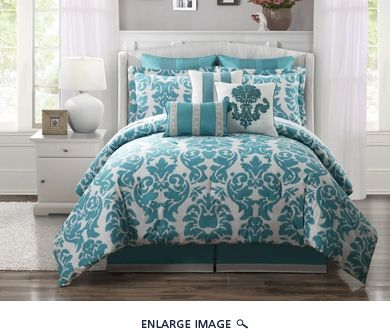 100 cotton comforter sets king 9 Piece Queen Chateau 100% Cotton Comforter Set  King Linen 9  100 cotton comforter sets king