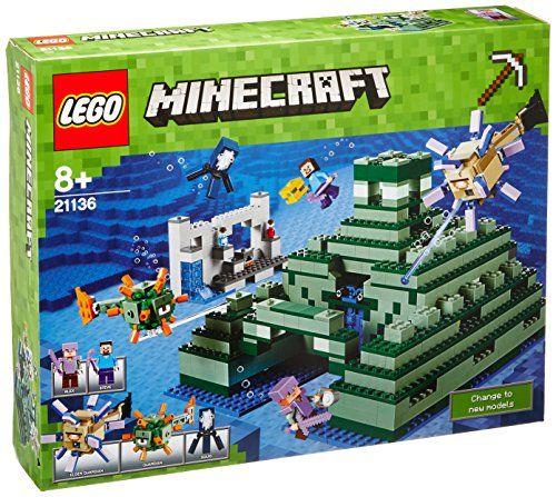 LEGO Minecraft - 21136 The Ocean Monument LEGO https://www.amazon.ca ...