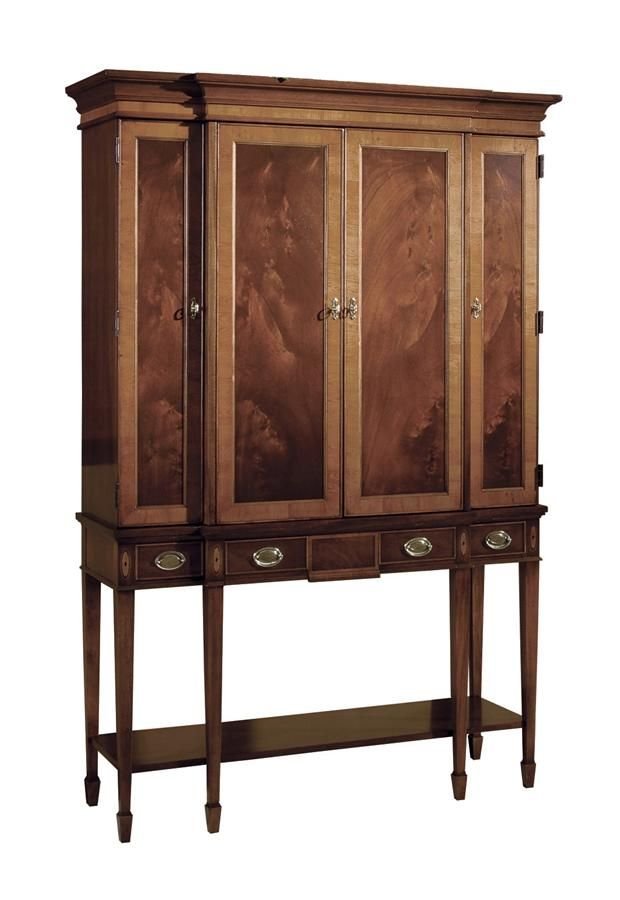 Hekman Furniture Copley Square Bar Cabinet Server