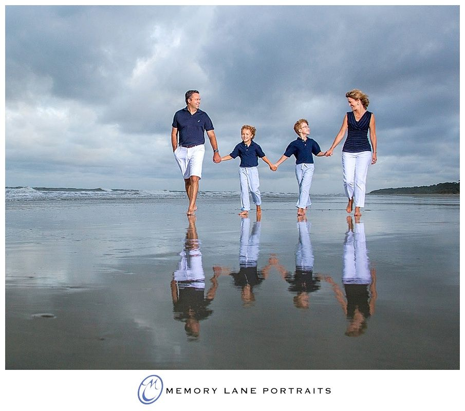 Family Pictures In The Beach: Why Photographers Never Cancel For A Potential Storm... So