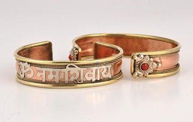 Copper Bracelet - Om Namah Shivaya   Products   Bracelets, Copper