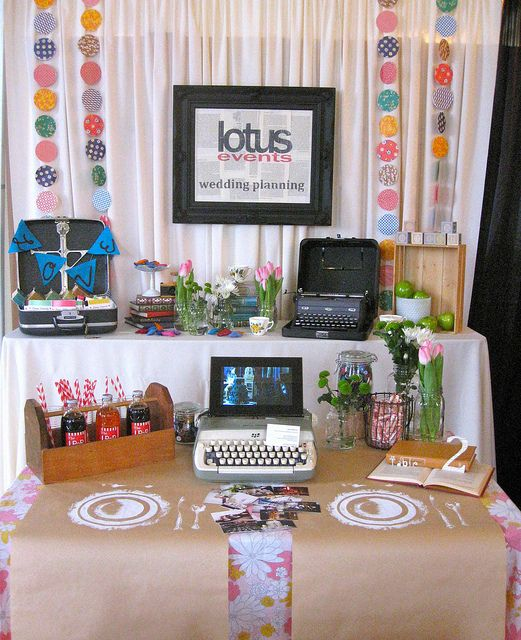 Wedding Fair Ideas: Trade Show Booth Ideas