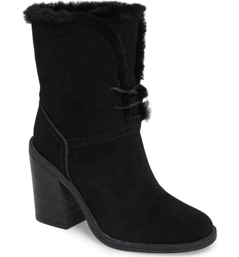 a88f3354958 UGG Australia Jerene Lace up Cuffable Shearling Boots 7.5 | boots ...