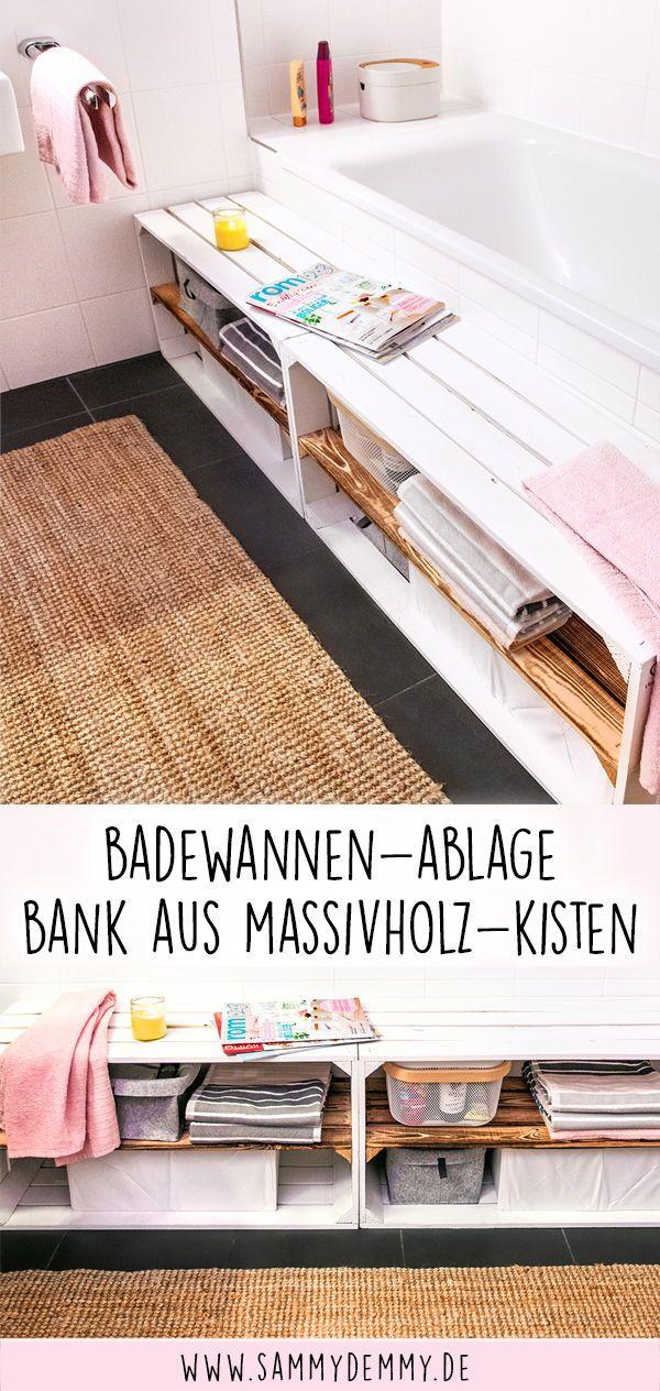 Photo of Holzkisten DIY: Vier wunderschöne Ideen fürs Bad
