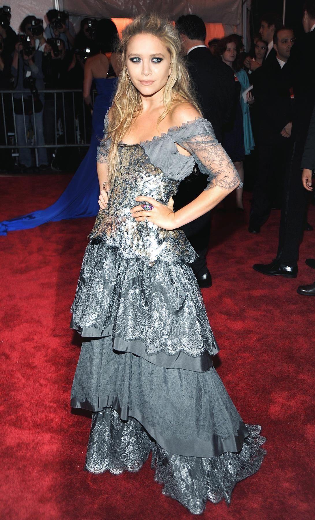 Mary-Kate Olsen at the Met Costume Institute Gala, 2009
