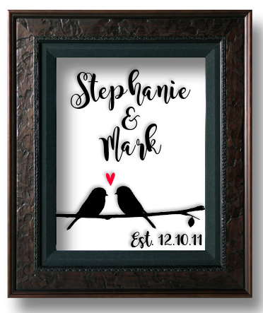 Such a sweet anniversary or wedding gift idea! Turn a