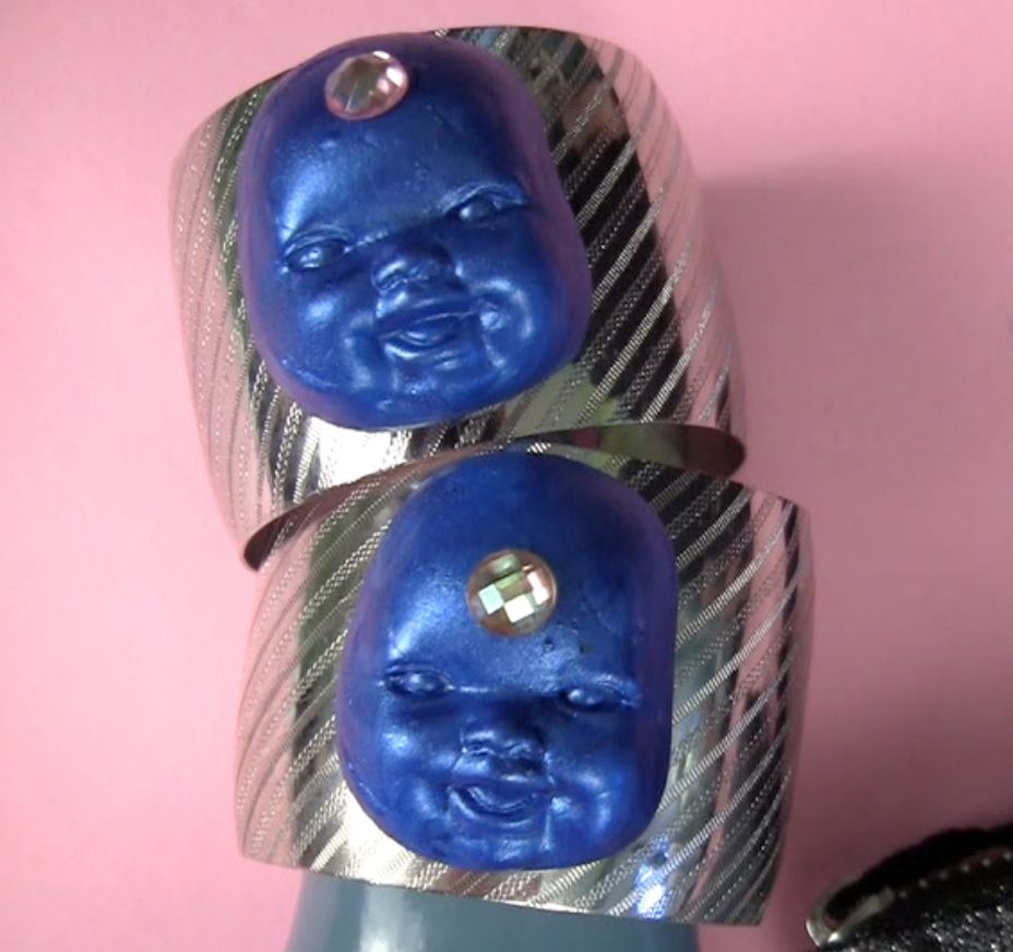 Mark Montano: Mold and Cast OR Blue Baby Bindi Bangles!