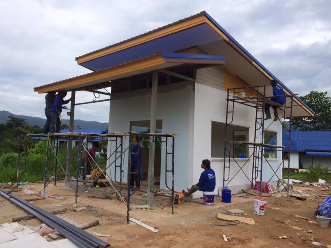 Construir Una Casa Economica. Free Amazing La Casa De Madera With ...
