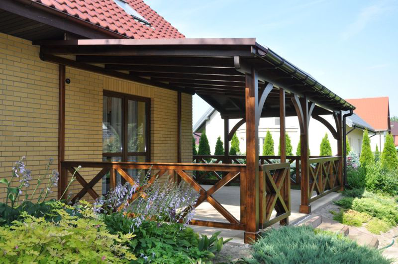 Террасы и веранды к дому, фото проектов и вариантов дизайна