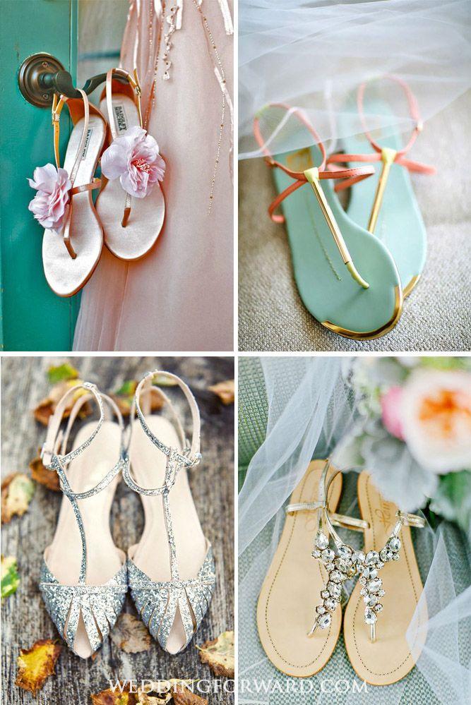 3302357d7 24 Wedding Sandals You ll Want To Wear Again ❤ Perfect for summer beach  wedding