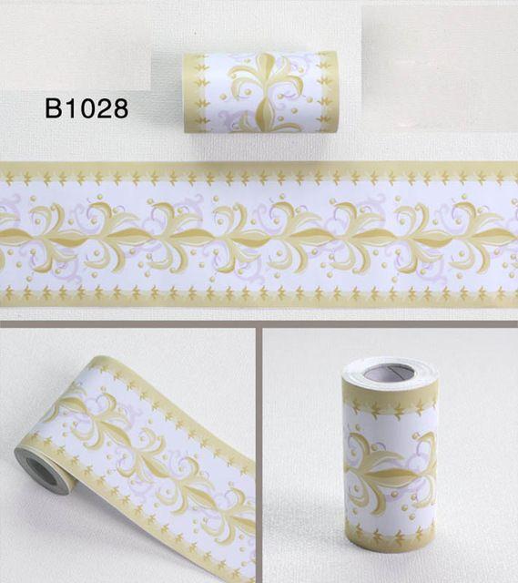 10m Waist Line Wall Sticker Kitchen Waistline Bathroom Toilet Waterproof Self Adhesive Pvc Wallpap Kitchen Wall Stickers Wall Stickers Vintage Wallpaper Border