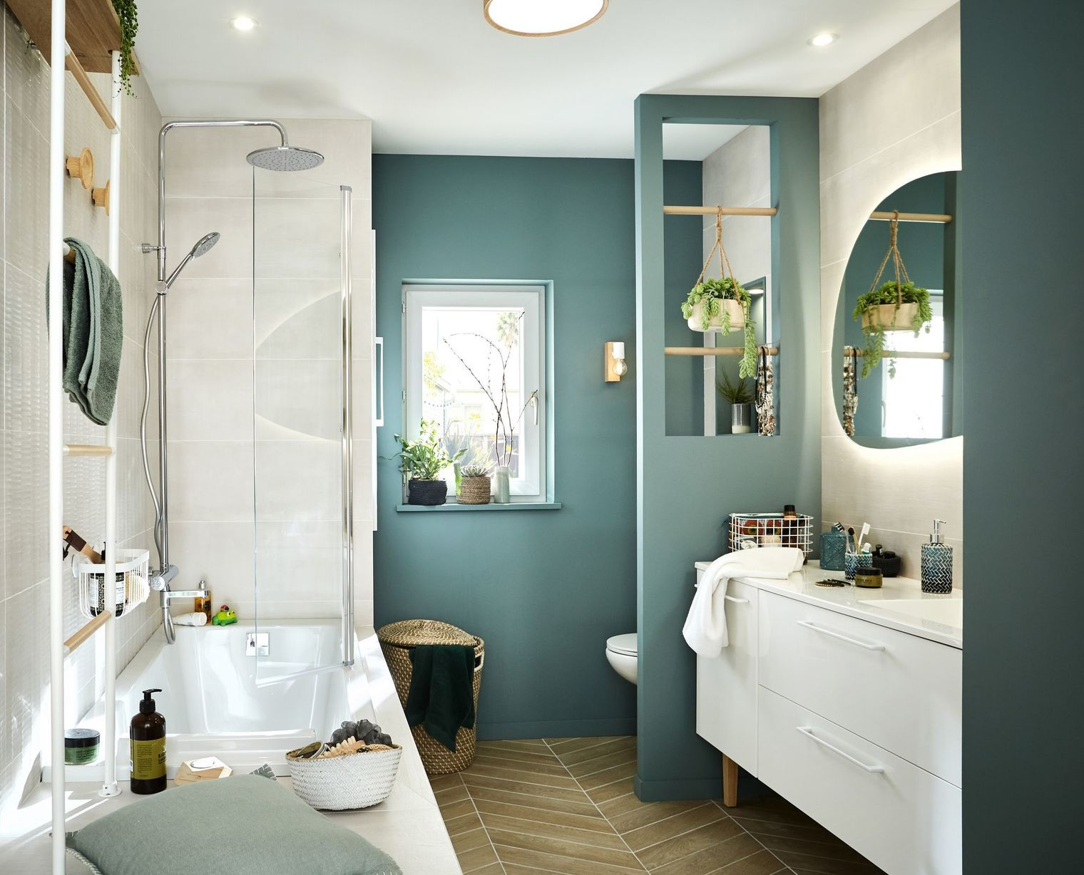 bains moderne salle de bain tendance